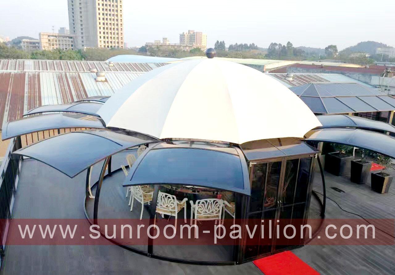 polycarbonate sun house