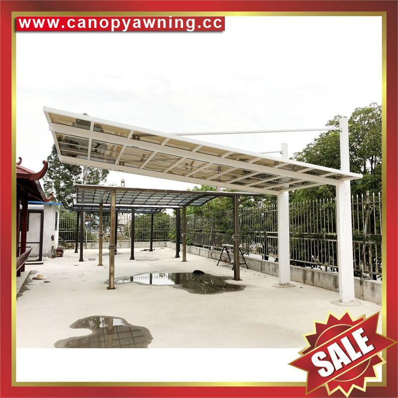 polycarbonate alu aluminum metal outdoor parking carport shelter car port