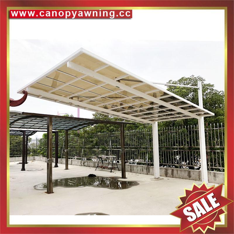 中国佛山铝合金铝制金属车棚厂家