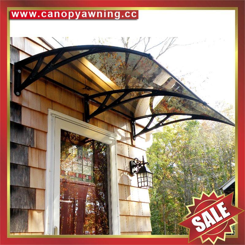 DIY door window rain sun polycarbonate pc awning canopy cover sunvisor shelter 1