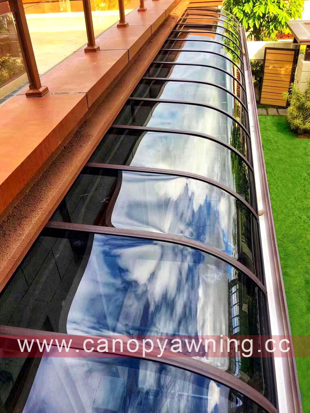 pc canopy,aluminum patio cover,polycarbonate patio covers