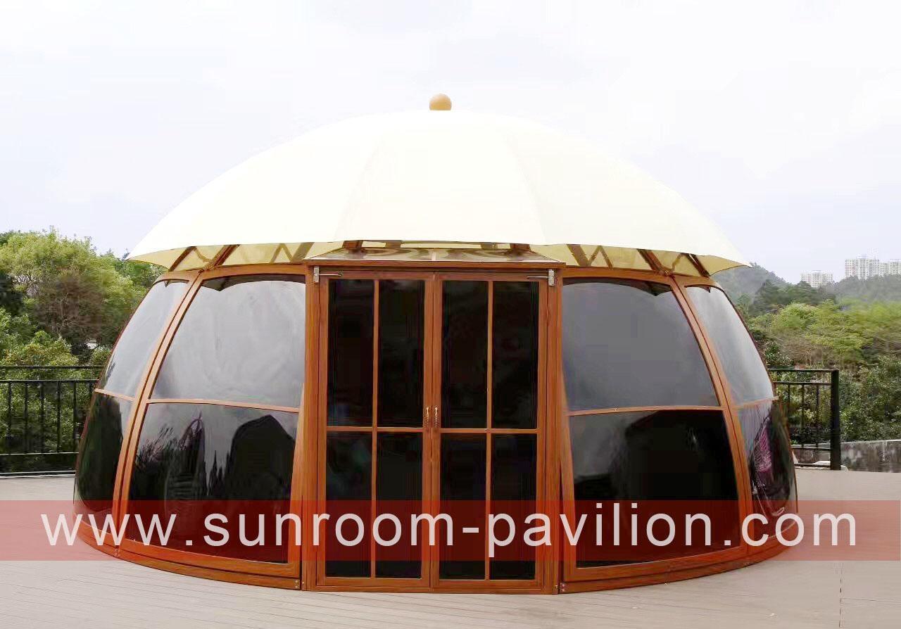 outdoor sun house