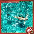 sea river sailing sightseeing tour transparent polycarbonate pc canoe kayak boat 1