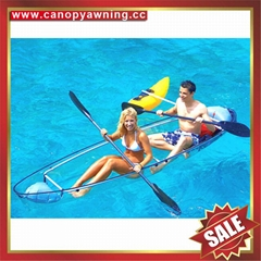 fishing sailing polycarbonate pc transparent clear boat canoe kayak
