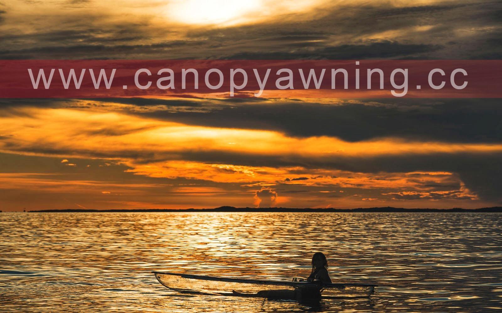 pc kayak/polycarbonate kayak/clear kayak/transparent kayak