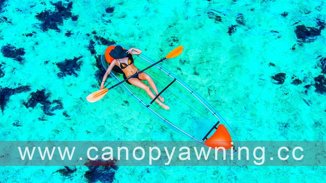 polycarbonate kayak/pc canoe/clear boat