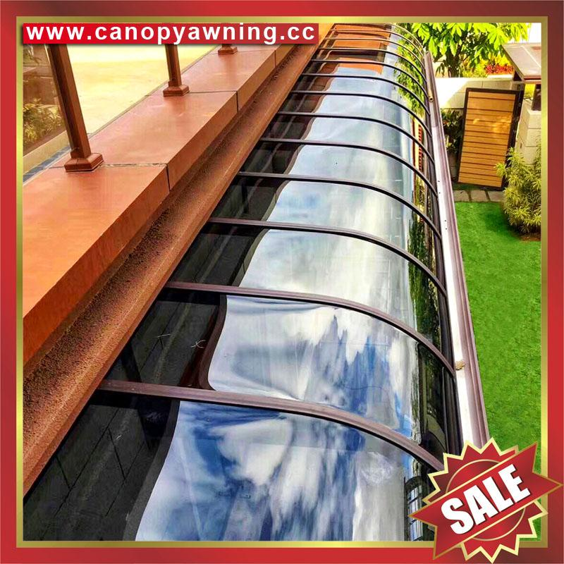 patio polycarbonate cover canopy awning for door window