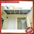 超耐用铝合金铝制耐力板板阳光露台门窗雨棚雨阳篷遮阳蓬 6