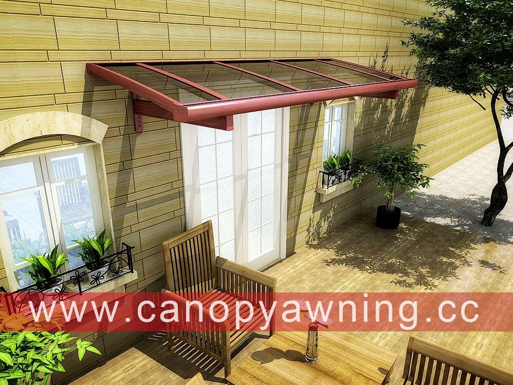 window door porch polycarbonate aluminum alu awning canopy canopies cover