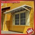 door window diy aluminium alu pc polycarbonate awning canopy cover manufacturers
