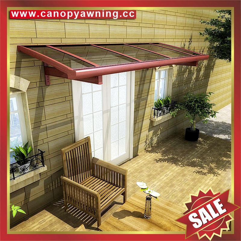 house door window diy aluminium aluminum pc polycarbonate awning canopy canopies cover
