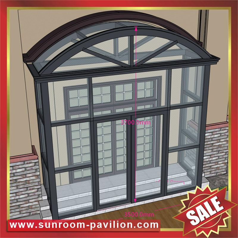 glass aluminum alu house door porch canopy canopies awning cover room cabin