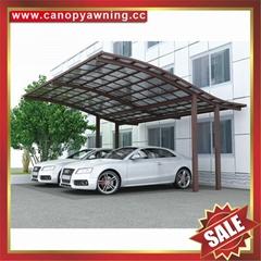 户外优质高级耐用聚碳酸酯PC金属铝合金车棚车篷车蓬