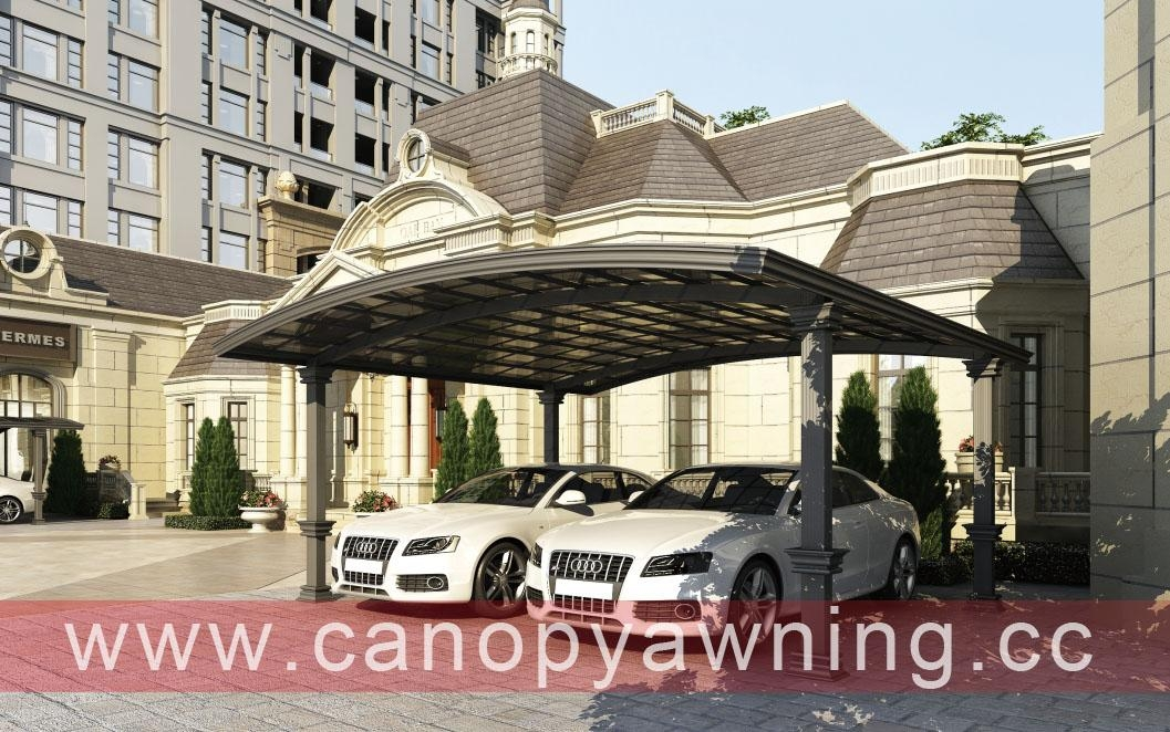 pc double carport carports car port polycarbonate