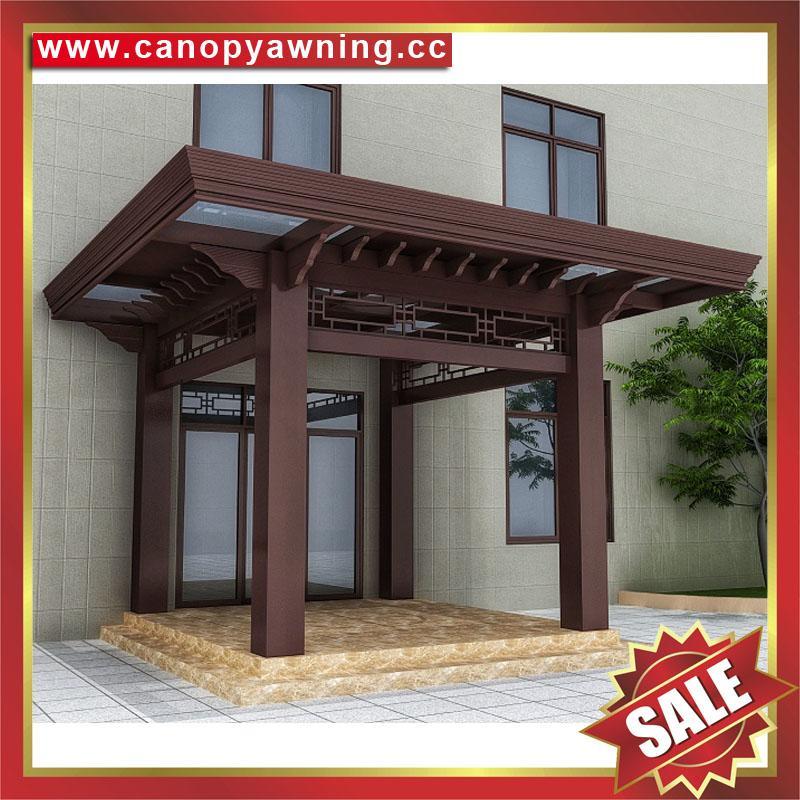 中式复古铝制铝合金四角六角八角葡萄架休闲遮阳凉亭 2