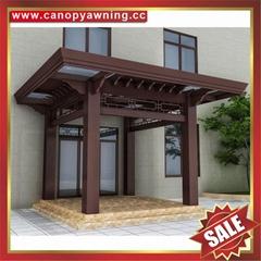 別墅花園園林人行道過道走廊鋁合金鋁制擋雨防晒雨棚雨陽篷遮陽蓬