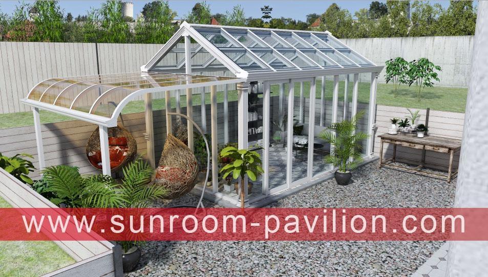 定制别墅花园玻璃铝合金采光阳光房