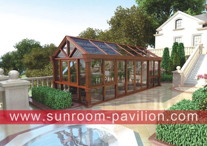 outdoor glass alu aluminum sunroom sun house manufacturers
