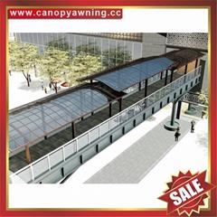 门廊窗户过道走廊楼梯铝合金铝制防晒遮阳雨阳棚蓬篷