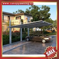 豪華高級耐用PC耐力板金屬鋁合金遮陽擋雨車棚車篷車蓬