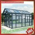 中国广东佛山优质花园公园别墅透明采光铝合金铝制玻璃阳光房 3