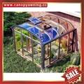 modern aluminum sunroom glass sun house room greenhouse cottage for garden