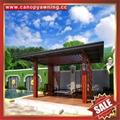 outdoor garden wood look alu aluminum gazebo pavilion pagoda gloriette for sale