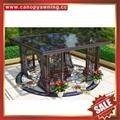 供应美观耐用公园园林工程现代中式铝合金铝制凉亭 3