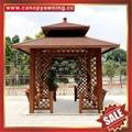 prefab outdoor aluminium pavilion pagoda gloriette for garden hotel project