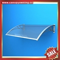 DIY door window polycarbonate pc awning canopy canopies cover sunvisor shelter
