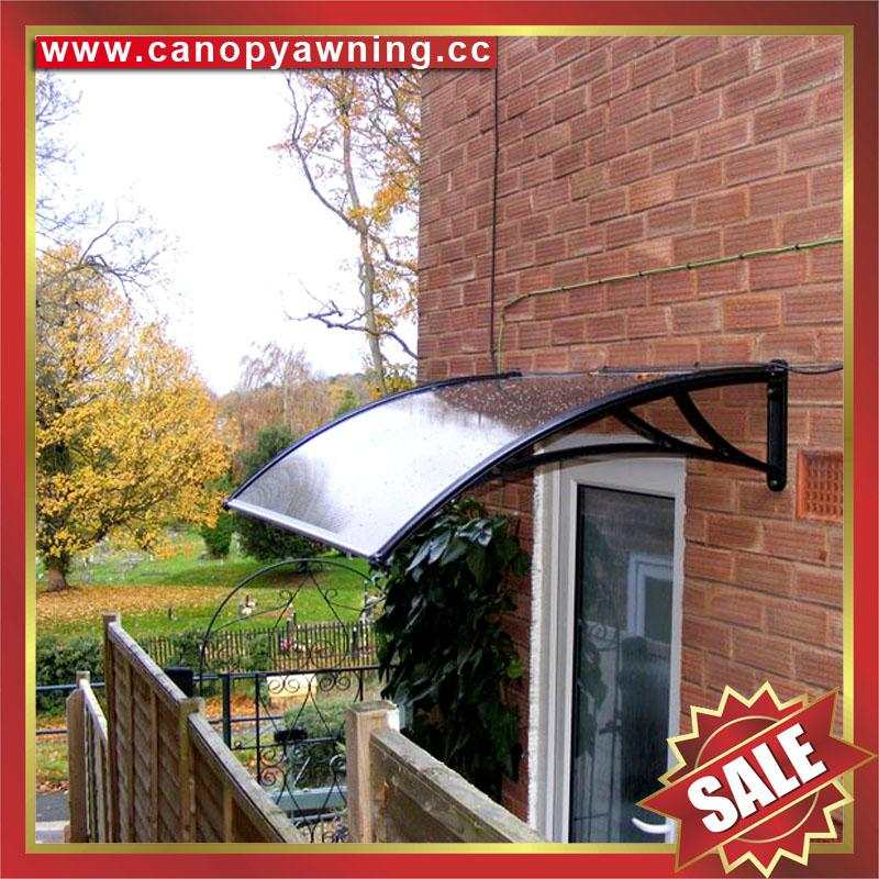 DIY door window polycarbonate pc awning canopy canopies cover sunvisor shelter 1