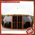 outdoor garden alu polycarbonate aluminum aluminium sunroom sun house room cabin