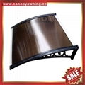 polycarbonate DIY door window pc awning canopy cover sunvisor shelter for house