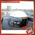 outdoor alu polycarbonate aluminum sunroom sun house room cabin dome tent gazebo 3