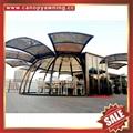 西式歐式別墅花園豪華透光採光鋁合金鋁制玻璃陽光房溫室屋 5