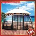 西式欧式别墅花园豪华透光采光铝合金铝制玻璃阳光房温室屋 1