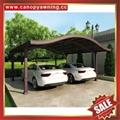 park pc polycarbonate aluminum alu car awning shelter carport canopy cover kits