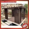 prefab outdoor aluminium gazebo shed