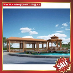 prefab outdoor garden aluminum gazebo pavilion pagoda gloriette manufacturers