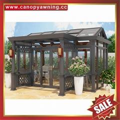 高级定做豪华隔音玻璃金属铝合金铝制别墅露台阳光房子温室屋
