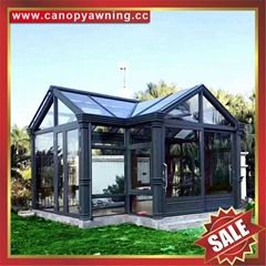 優質高端鋁合金陽光房玻璃房溫室廠家生產商工廠直銷