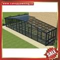 modern villa garden transparent glass alu aluminum sun house cabin sunroom