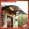 DIY door window polycarbonate pc awning canopy canopies cover sun shield shelter