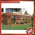 坚固耐用欧式中式豪华钢化玻璃金属铝合金露台阳光房温室屋 2