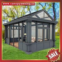 坚固耐用酒店别墅花园天台阳台铝合金铝制房屋阳光房