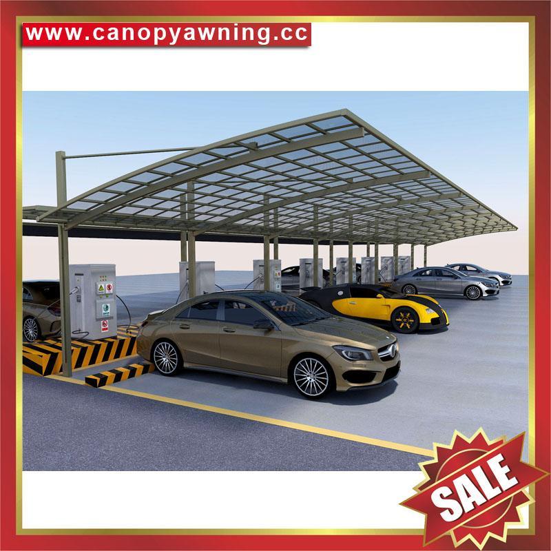modern braces pulled hauling parking aluminum car shelter cover carport canopy 4