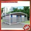 廣東優質耐用酒店別墅遮陽擋雨PC耐力板鋁合金鋁制游泳池棚蓬篷 3