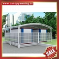 廣東優質耐用戶外遮陽擋雨PC耐力板鋁合金鋁制游泳池棚蓬篷 2