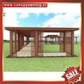 outdoor walkway corridor passage aisle aluminum alu gazebo canopy awning shelter