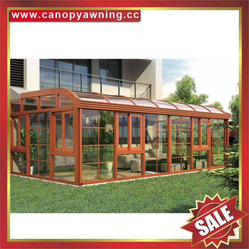 铝制玻璃别墅花园阳光房厂家